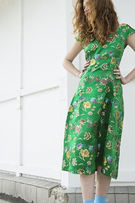 Brocade Silk Dress SOLD OUT