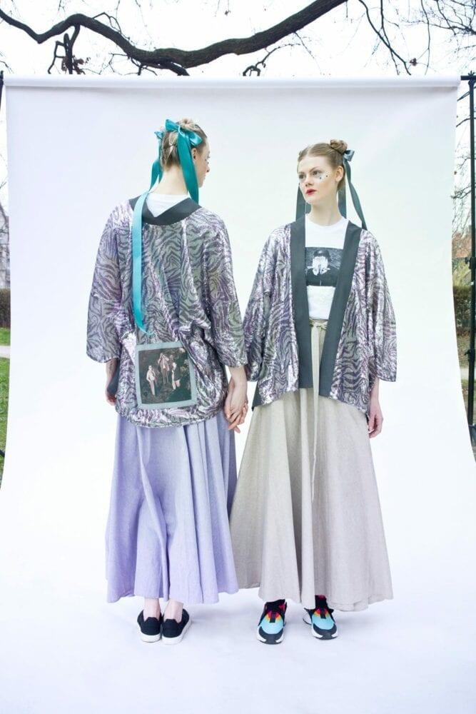 Kimono společenské