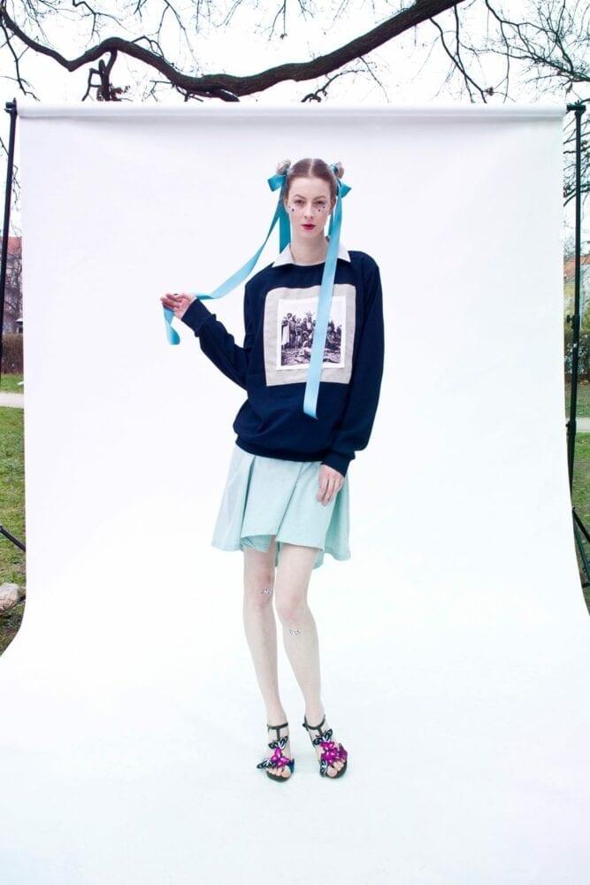 """Sweatshirt """"summer with Aunt Věra"""""""