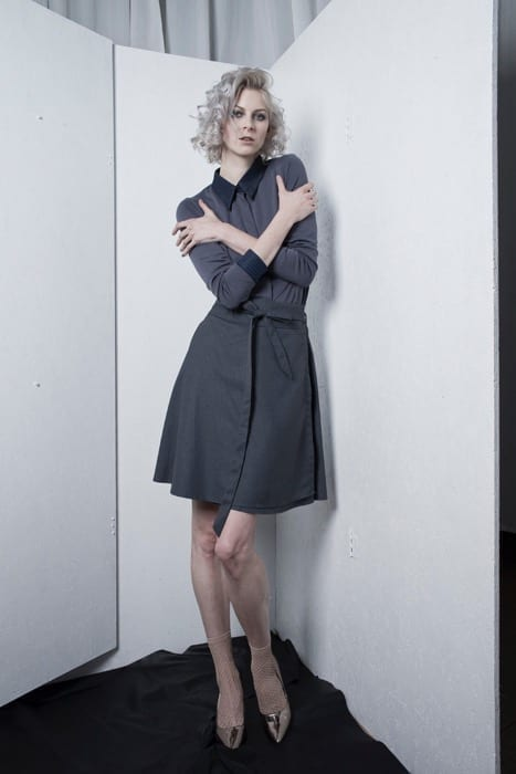 Dark blue/grey skirt
