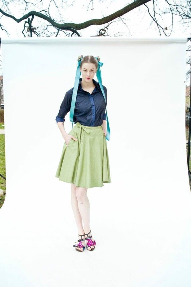 """Skirt """"matcha"""""""