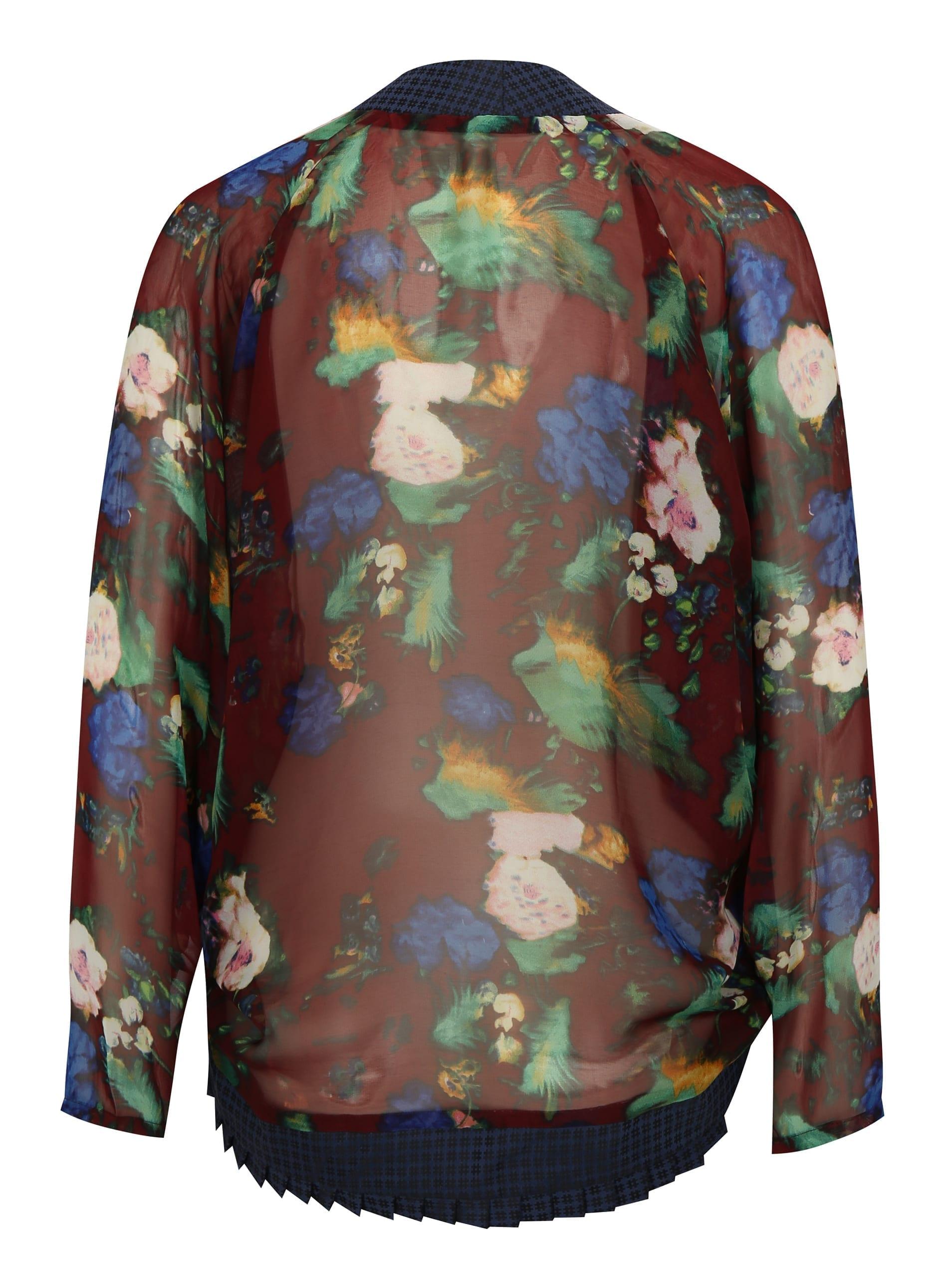 Letní květinové kimono no1