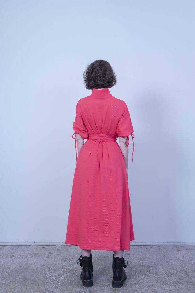 """""""Dream dress"""" anebo košilové šaty malinové"""