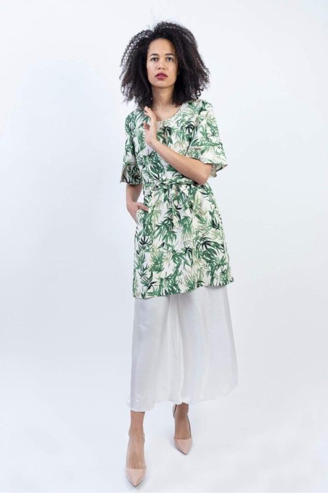 Tunic shirt dress