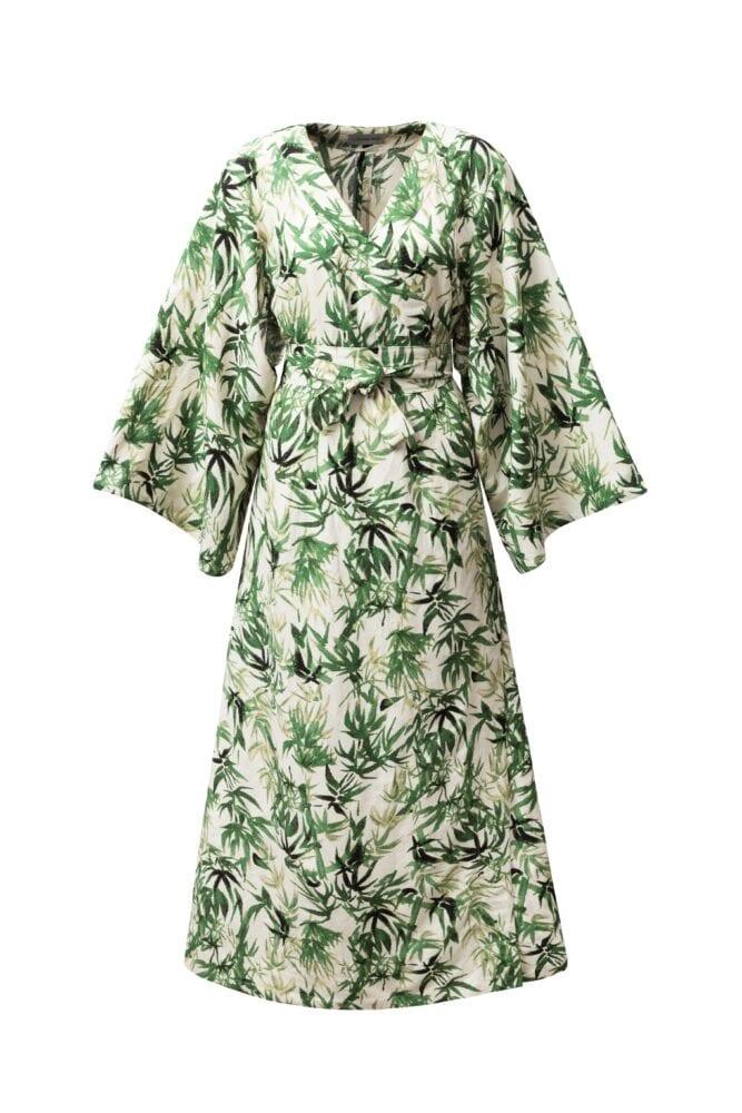 Kimono linen dress