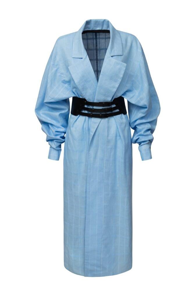 Kabát i šaty