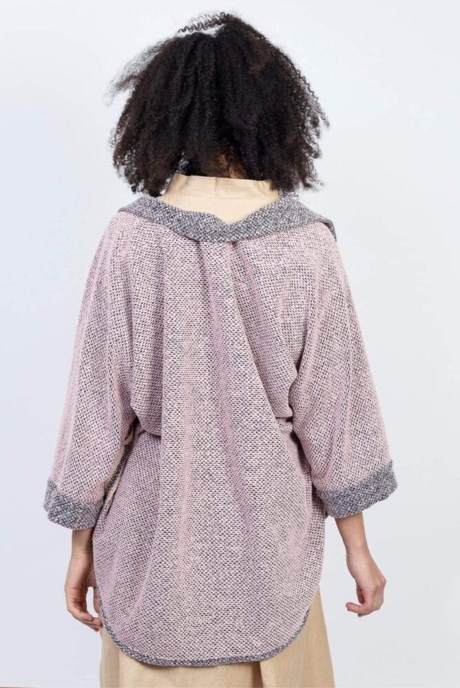 Oboustranně kimono babyPink