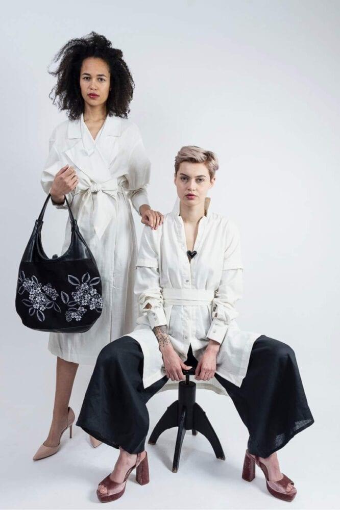 Ivory šaty/kabátek