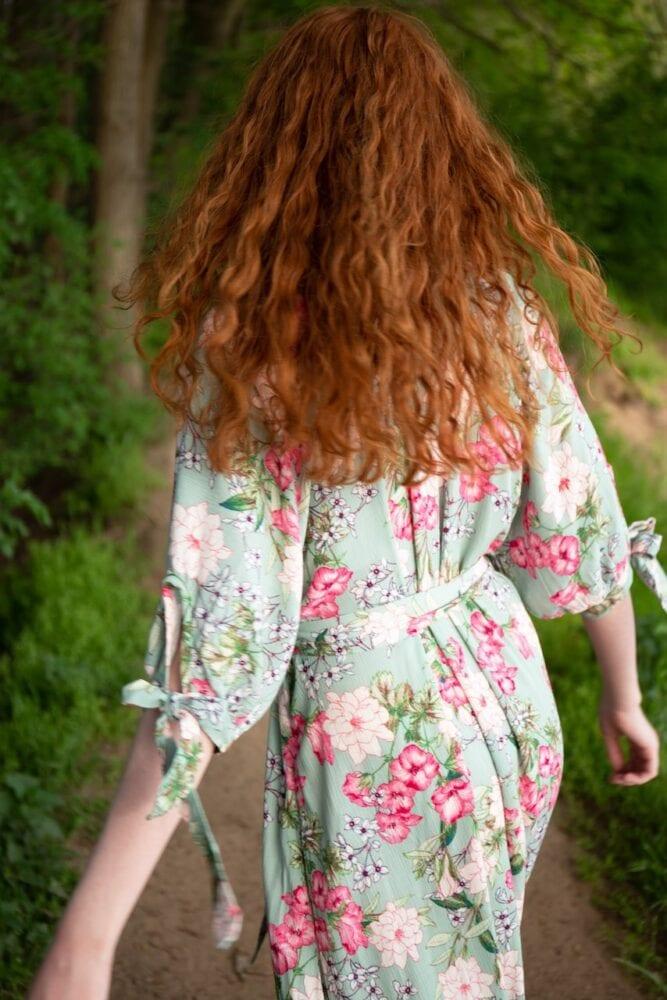 Šaty jako z obrazu Gustava Klimta