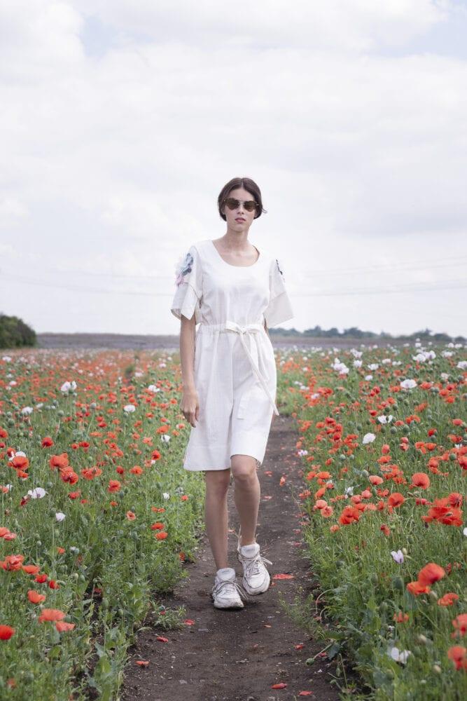 Léto jak vyšité…šaty s vyšívanou květy
