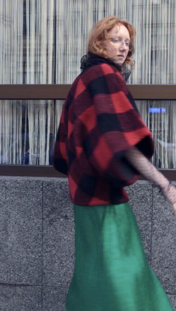 KimonovéPončo